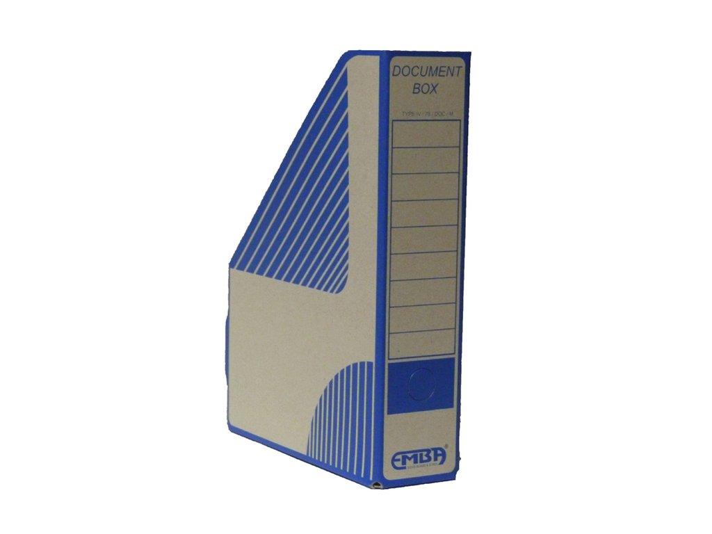 Box archivní magazin modrý