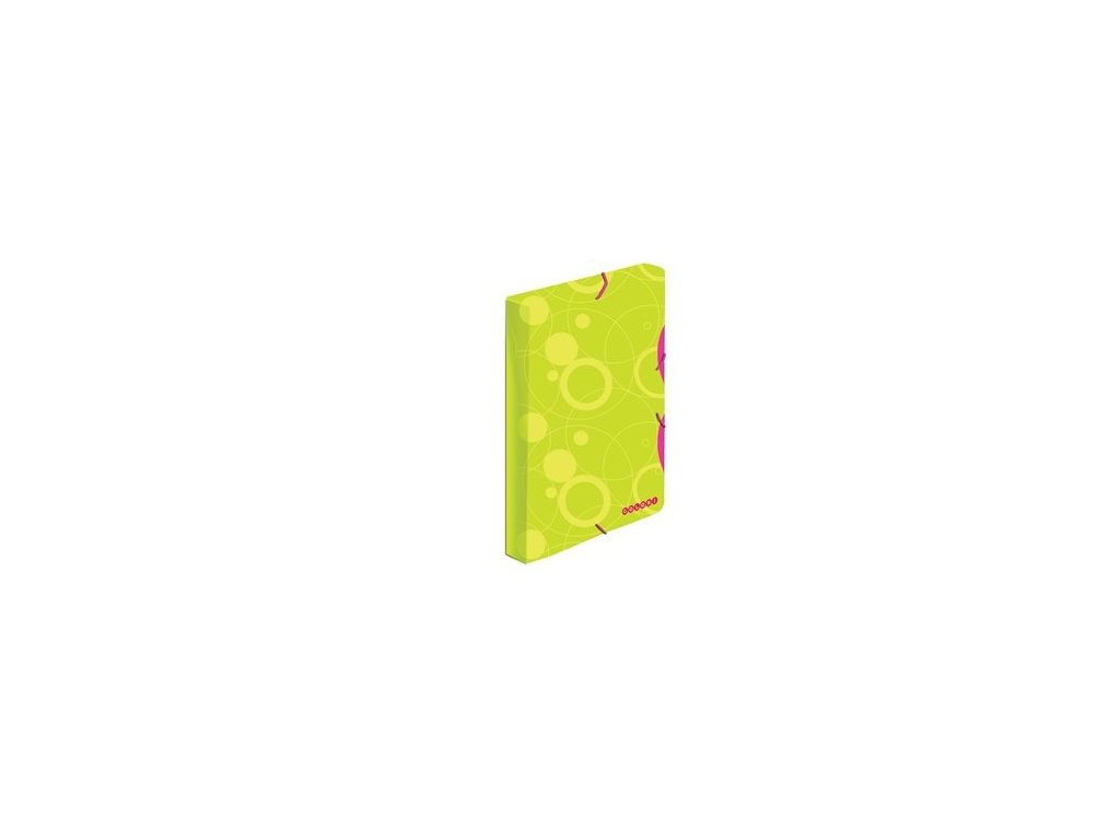 "Box na dokumenty A4 ""Duo Colori"" zeleno-růžový"