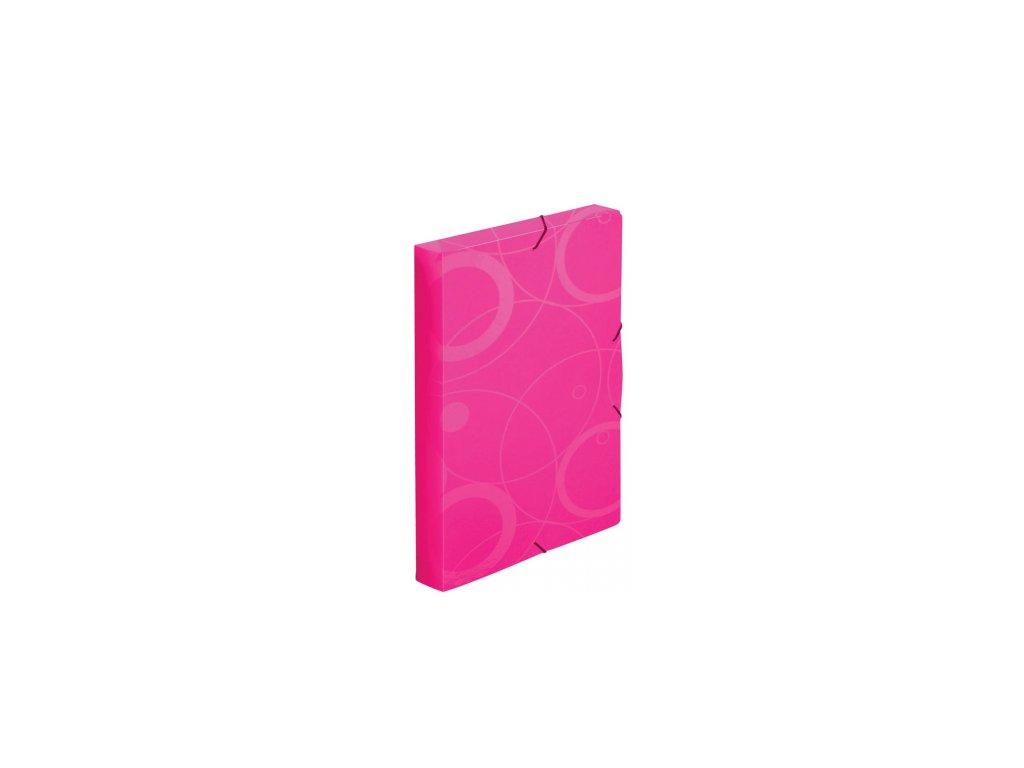 8595096729666 box na dokumenty neocolori růžový