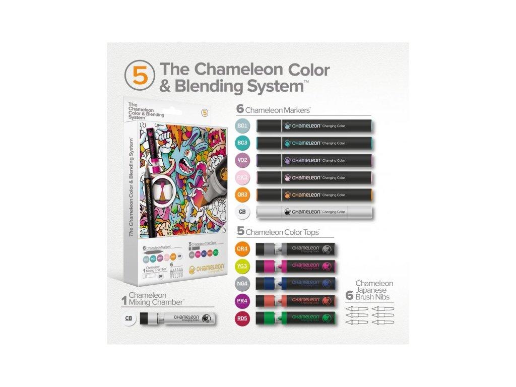set chameleon color blending system 05 hrave tony