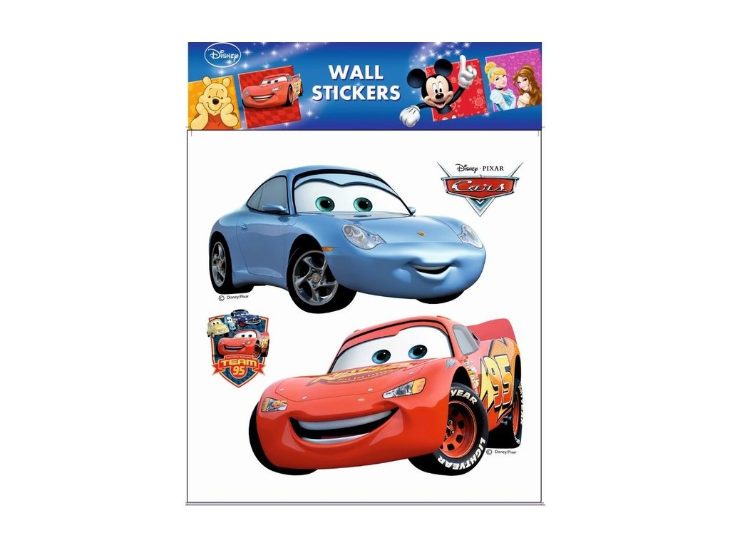 Dekorace pokojová Cars Disney