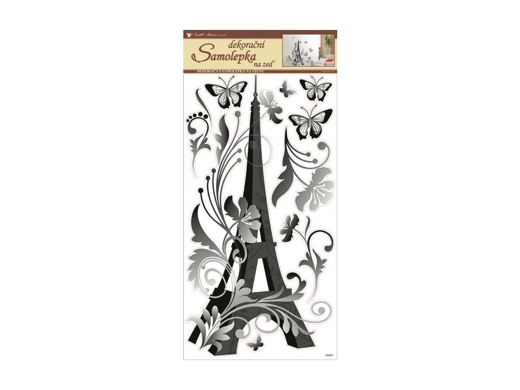 Dekorace pokojová Eiffelova věž