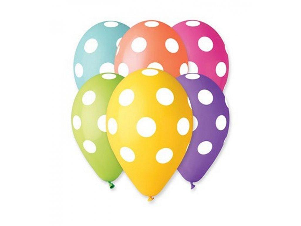 Balónky puntík