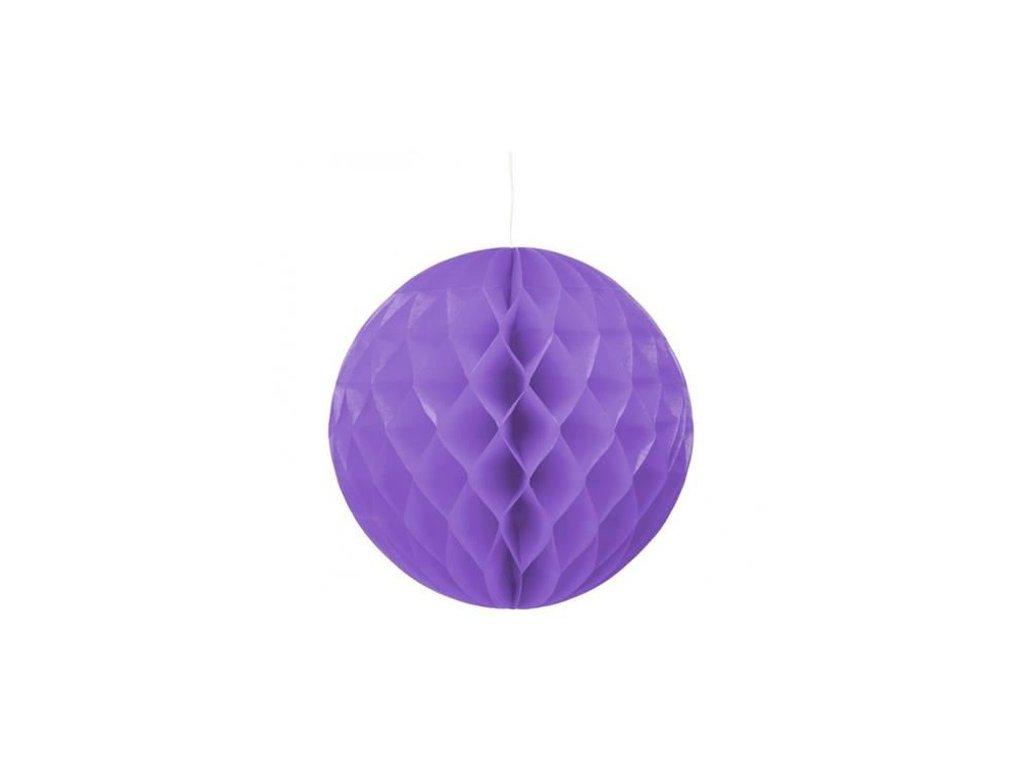 0003217 dekoracni zavesna koule fialova 30 cm 510