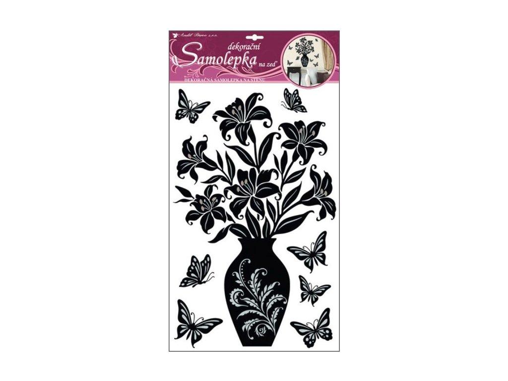 Dekorace pokojová lilie černá