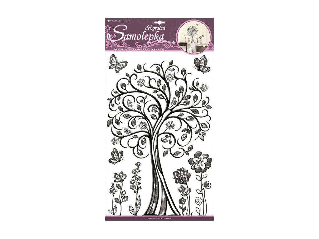 Dekorace pokojová strom s duhovým efekten