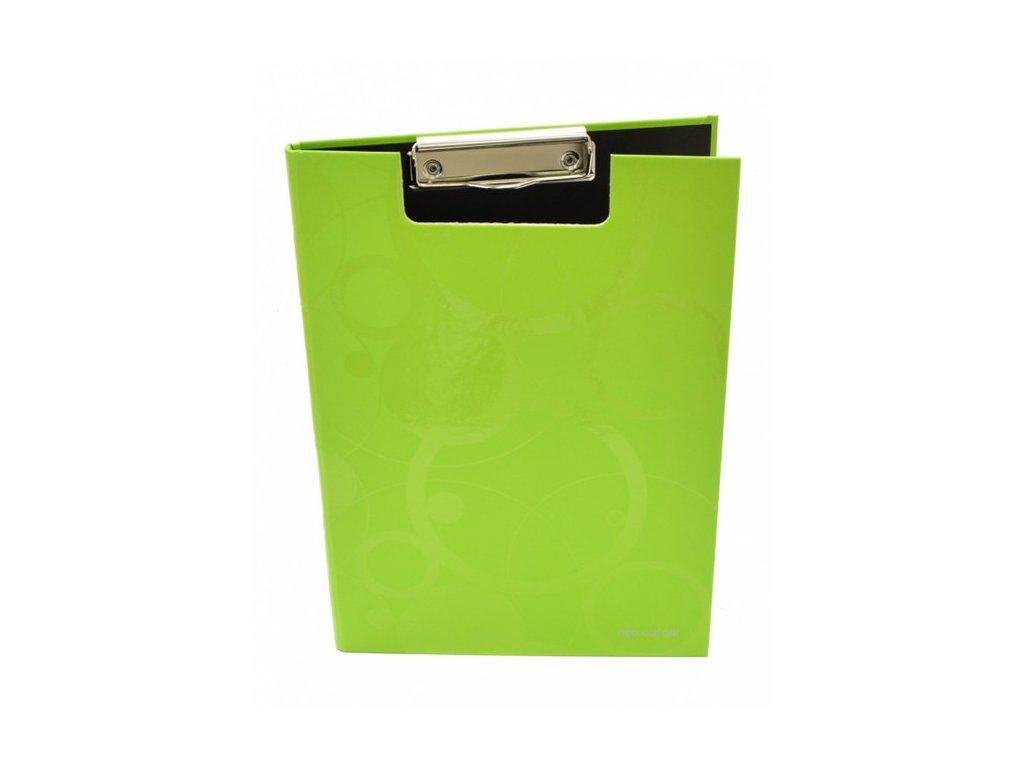 """Deska A4 s klipem dvojitá """"Neo Colori""""  zelená"""