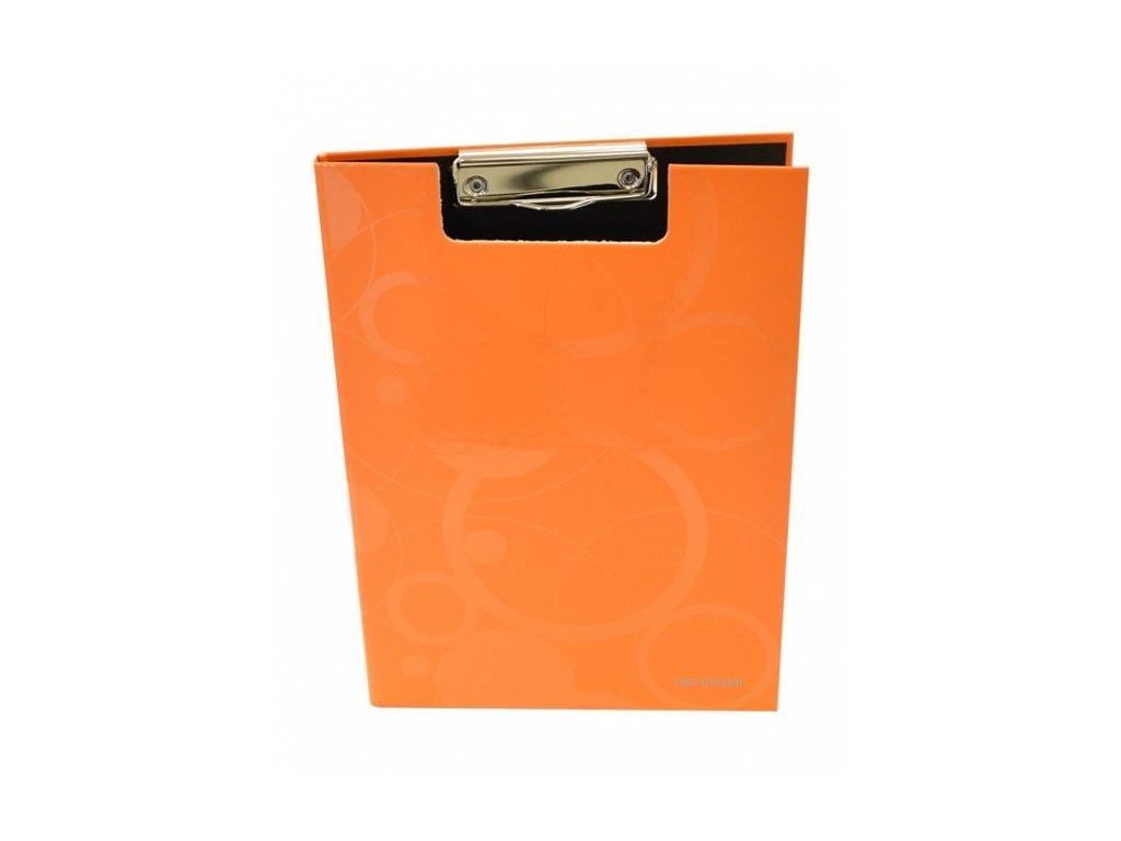 """Deska A4 s klipem dvojitá """"Neo Colori"""" oranžová"""