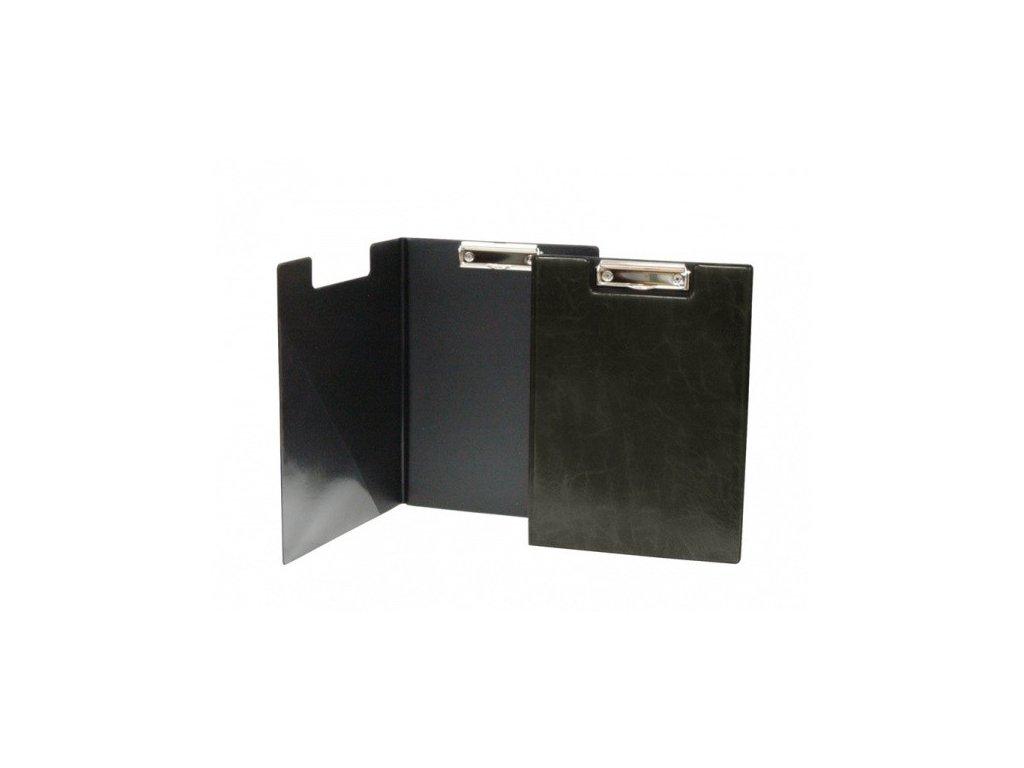 Deska A4 s klipem dvojitá černá