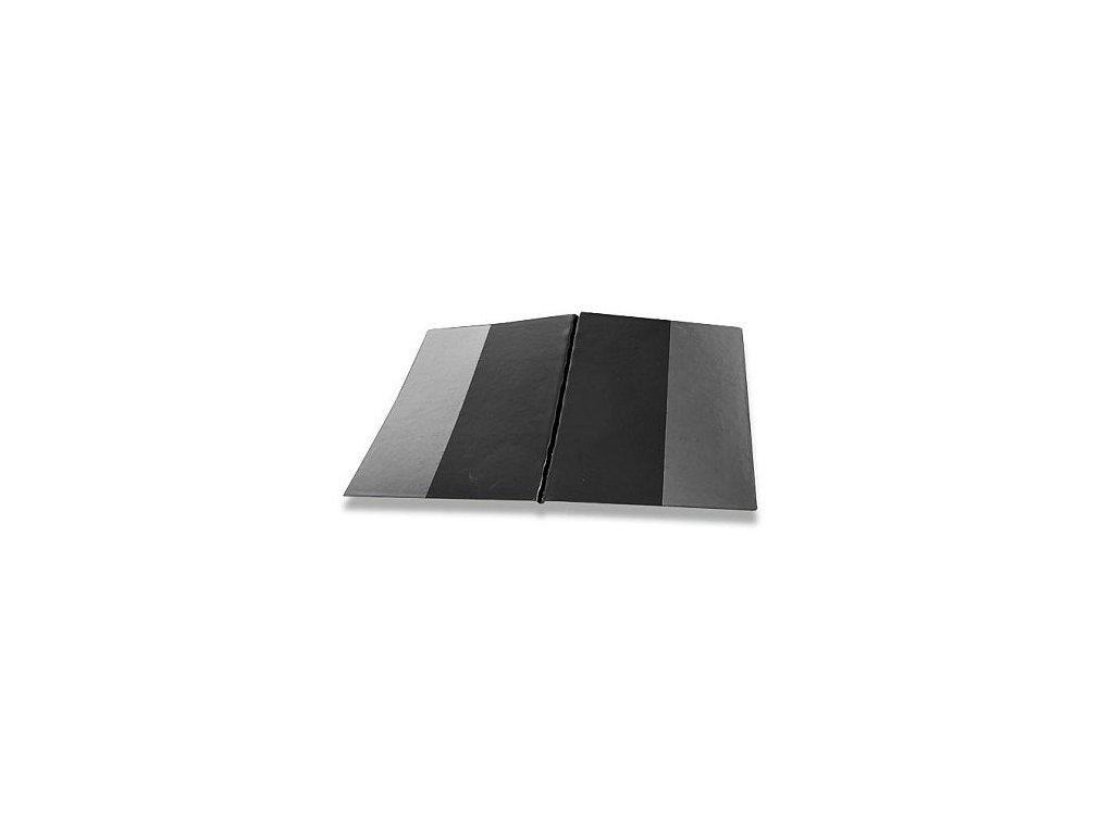 Sloha A4 SPORO boční kapsa plast - černá