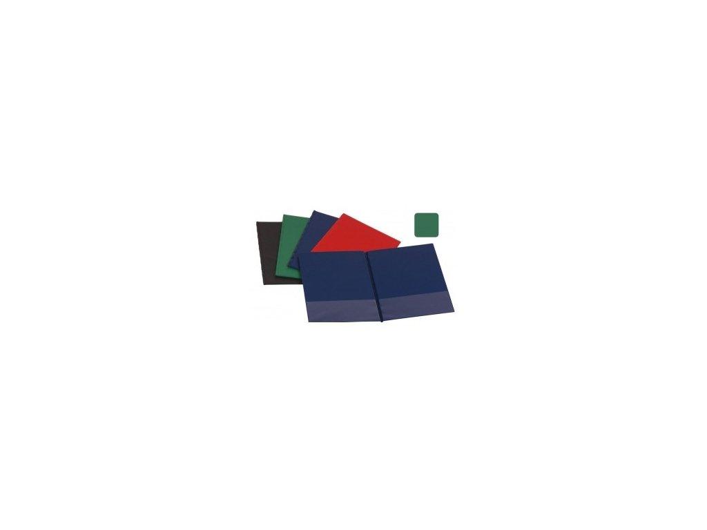 Sloha A4 SPORO spodní kapsa plast - zelená