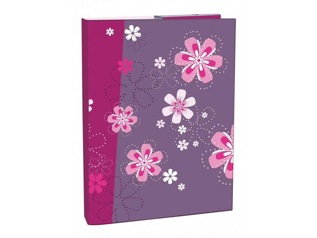 Desky A5 box na sešity Flower dream