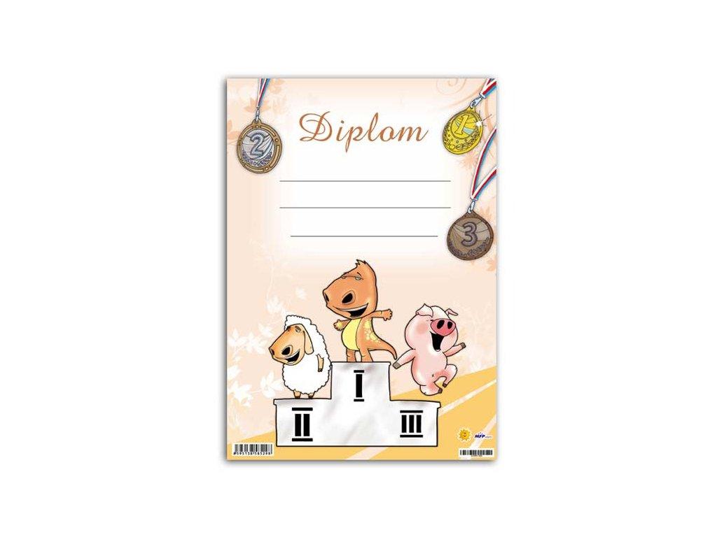 Dětský diplom A5 MFP DIP05-004