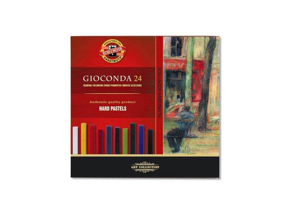 Gioconda Hard pastels 24 ks
