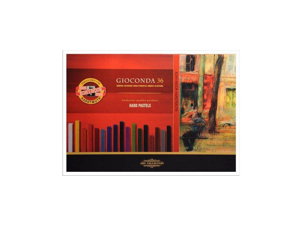 Gioconda Hard pastels 36 ks