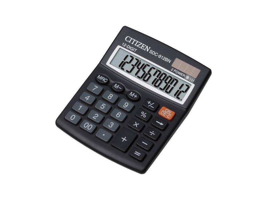 Kalkulačka CITIZEN SDC 812BN