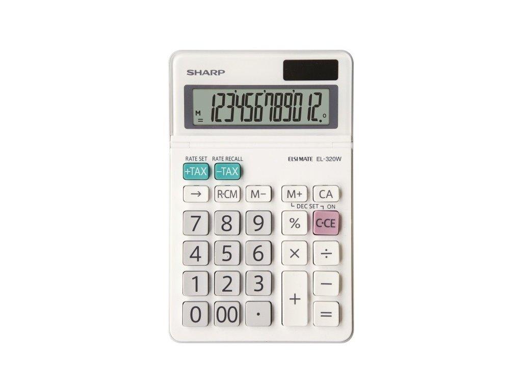 Kalkulačka SHARP EL-320W