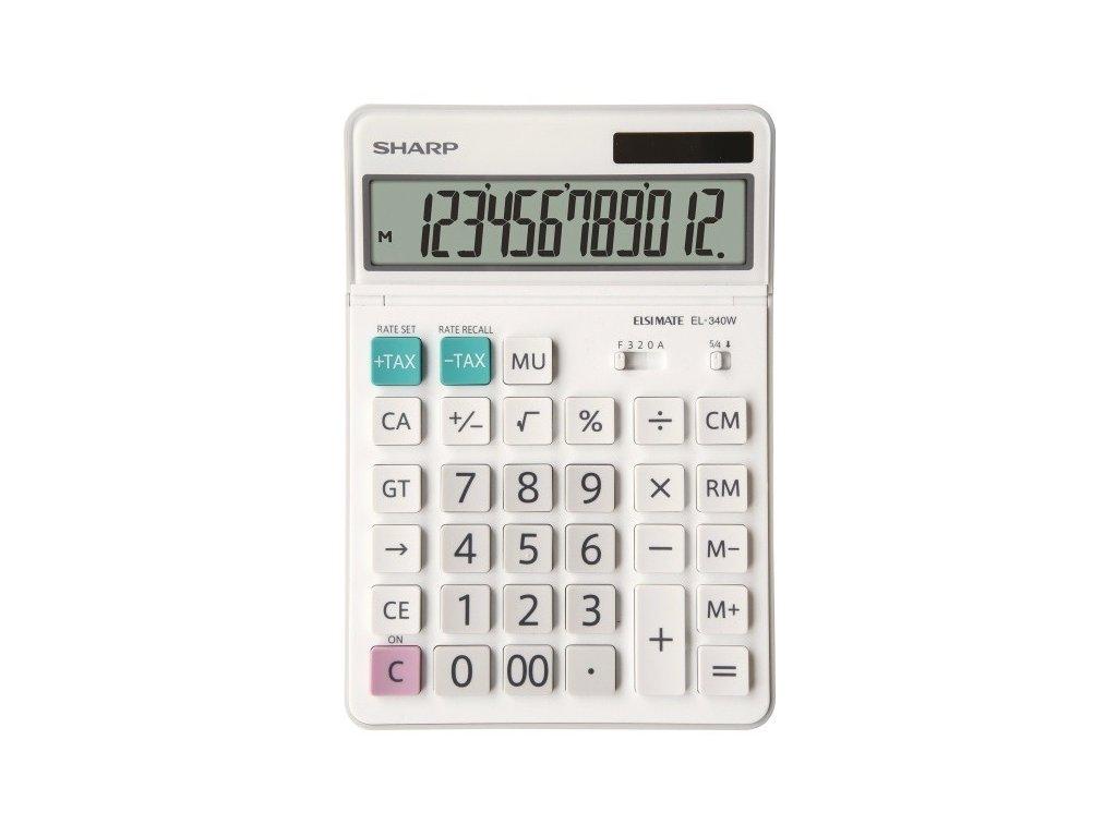 Kalkulačka SHARP EL-340W