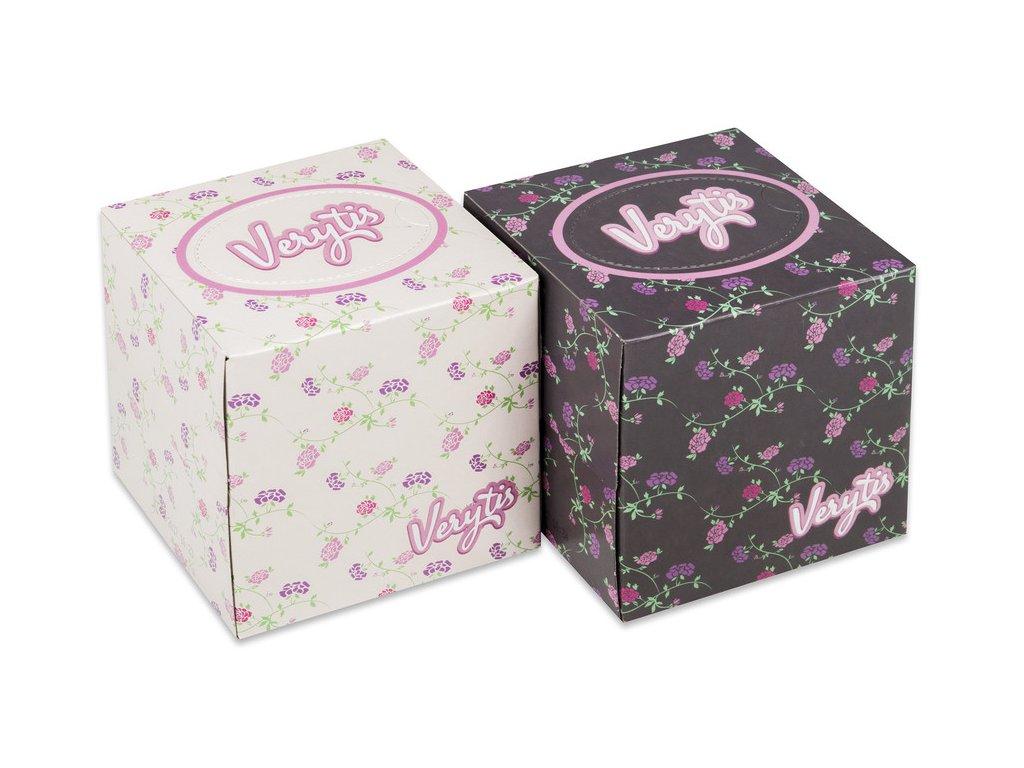 Kapesníčky v krabici Verytis cube