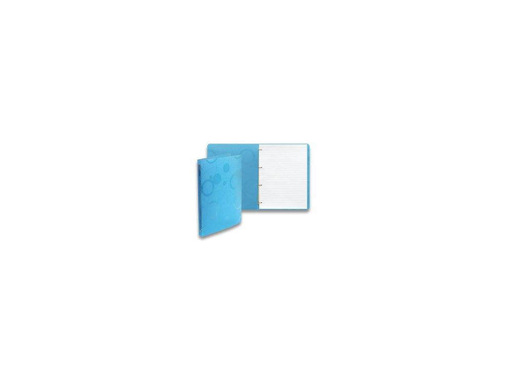 "Karis blok A4 linka ""Neo Colori"" modrý"