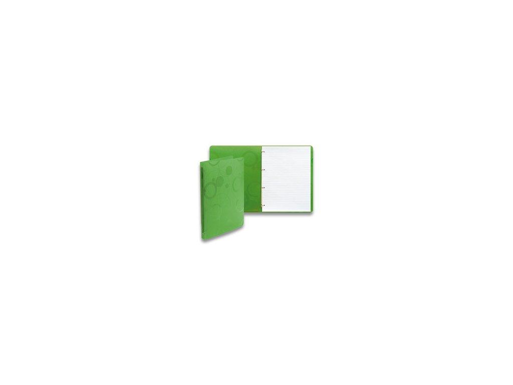 "Karis blok A4 linka ""Neo Colori"" zelený"
