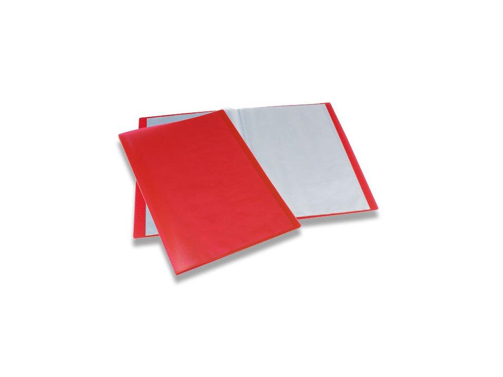 Katalogová kniha Foldermate červená 40 listů