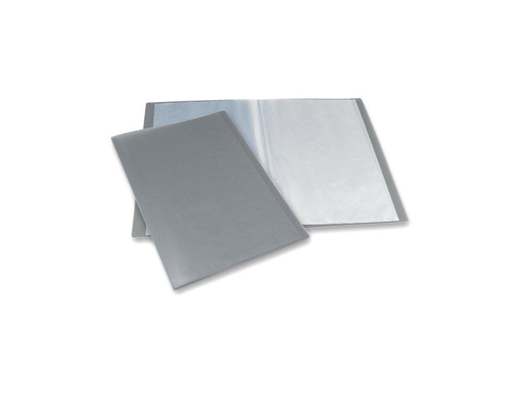 Katalogová kniha Foldermate kouřová 40 listů
