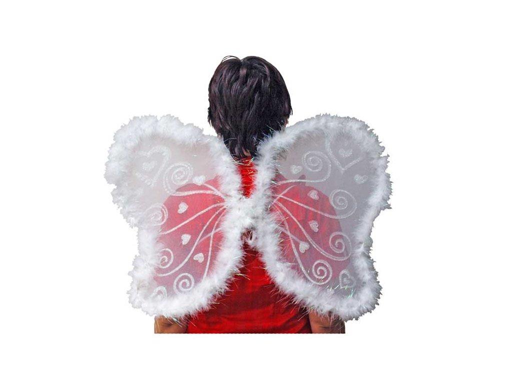 Křídla motýlí AY-N7346 43cm