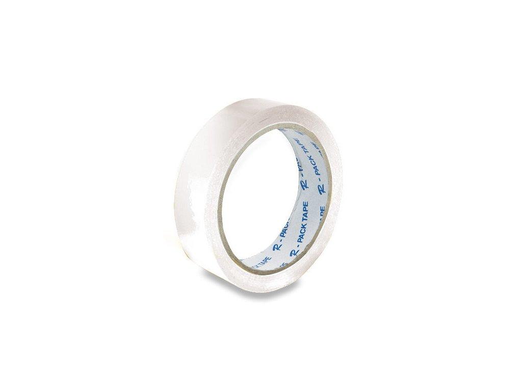 Lepící páska 25 x 66 mm bílá