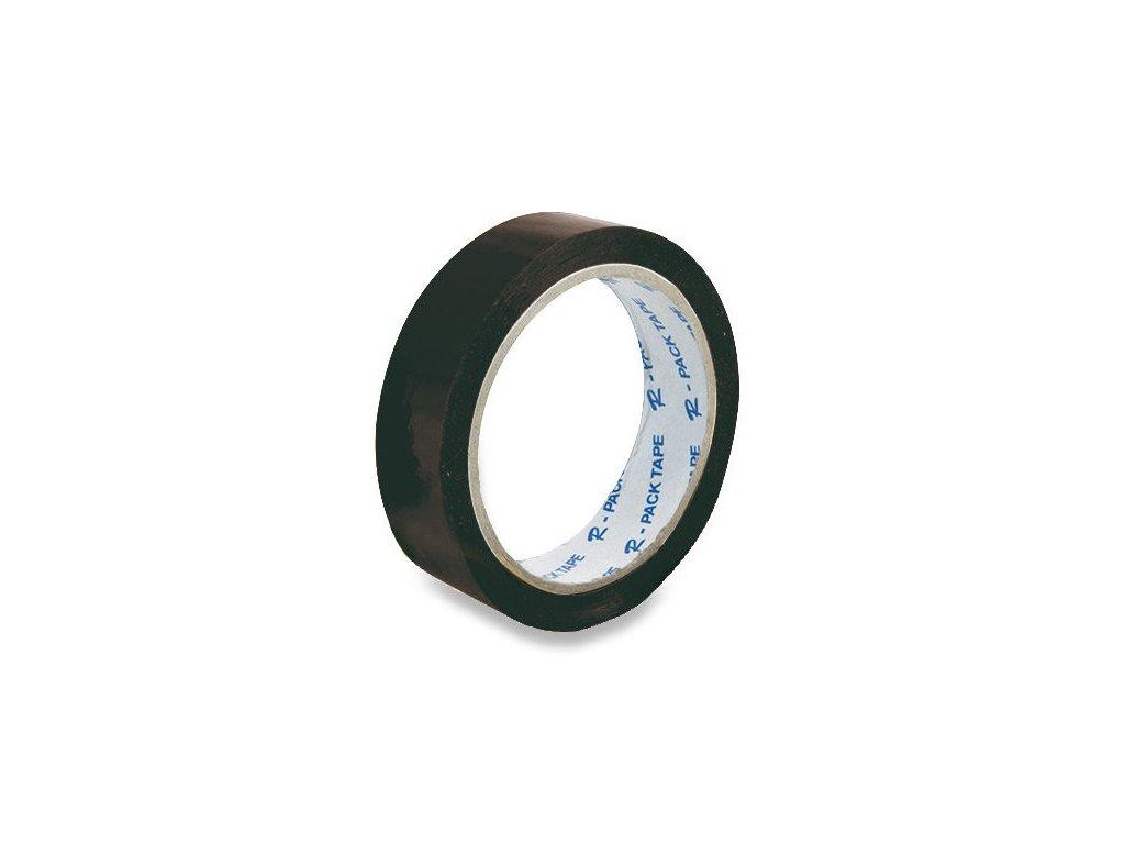 Lepící páska 25 x 66 mm černá