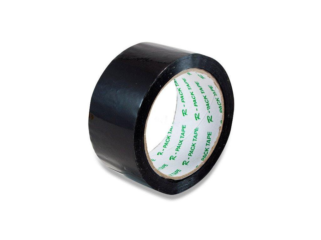 Lepící páska 48 x 66 mm černá