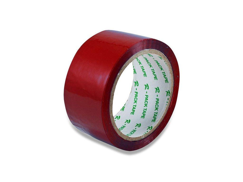 Lepící páska 48 x 66 mm červená
