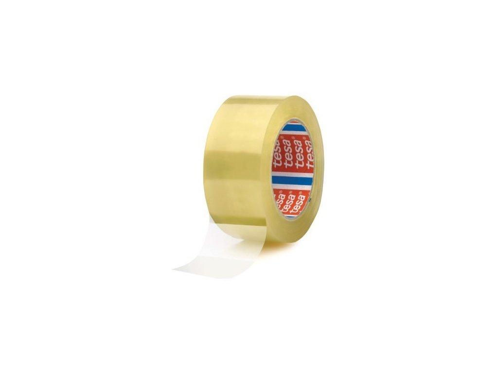 Lepící páska 48 x 66 mm čirá Tesa