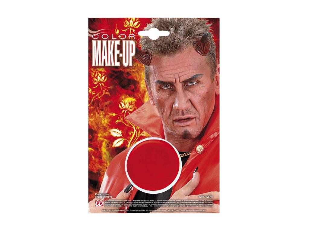 Make-up červený v kalíšku