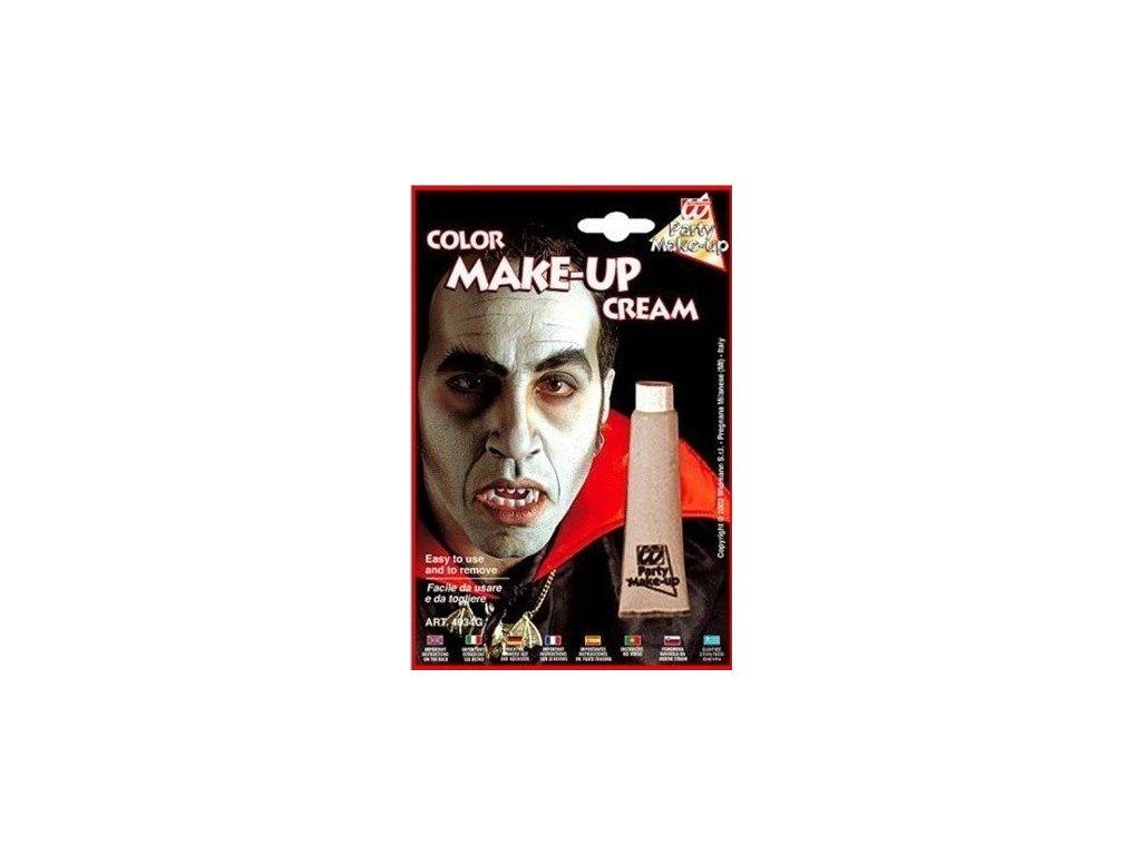 Make-up v tubě šedivý