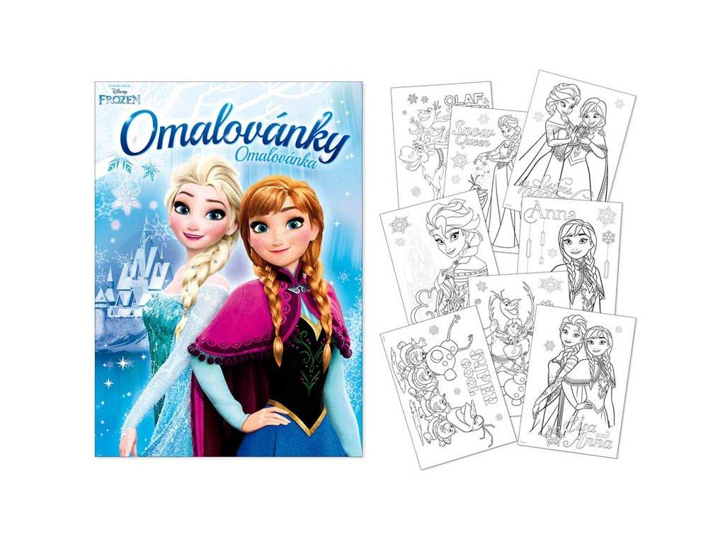 Omalovánky A4 Disney (Frozen) 2