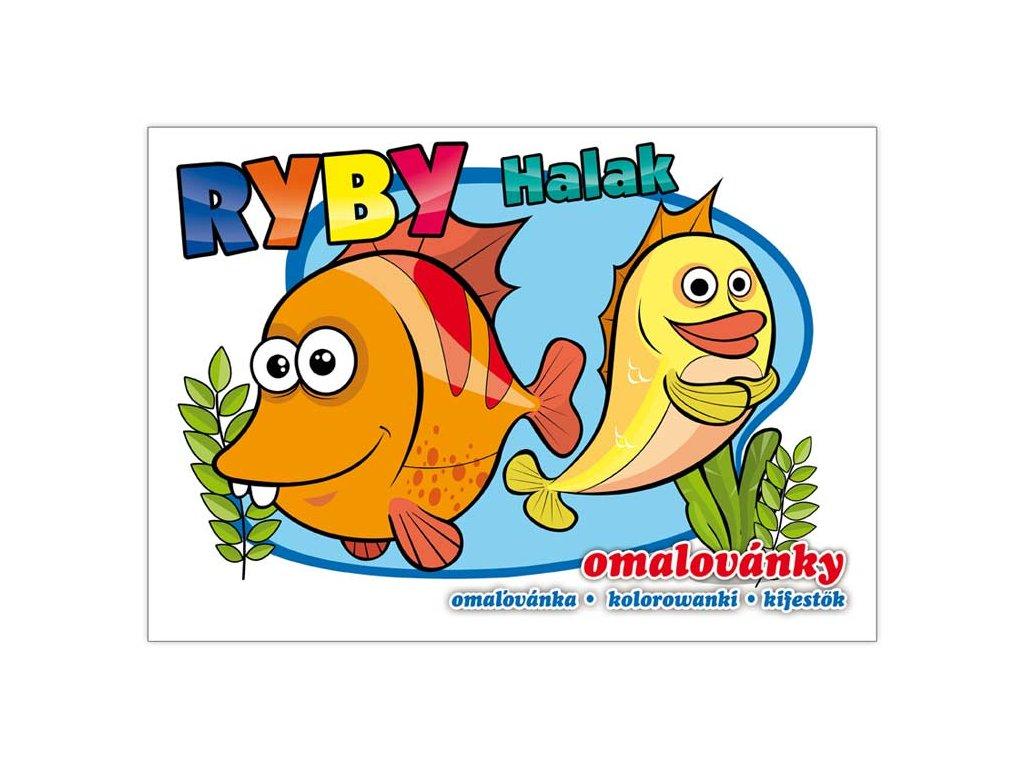 Omalovánky Ryby