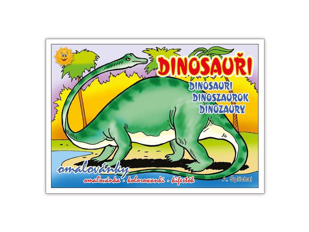 Omalovánky Dinosauři