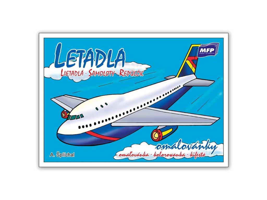 Omalovánky Letadla