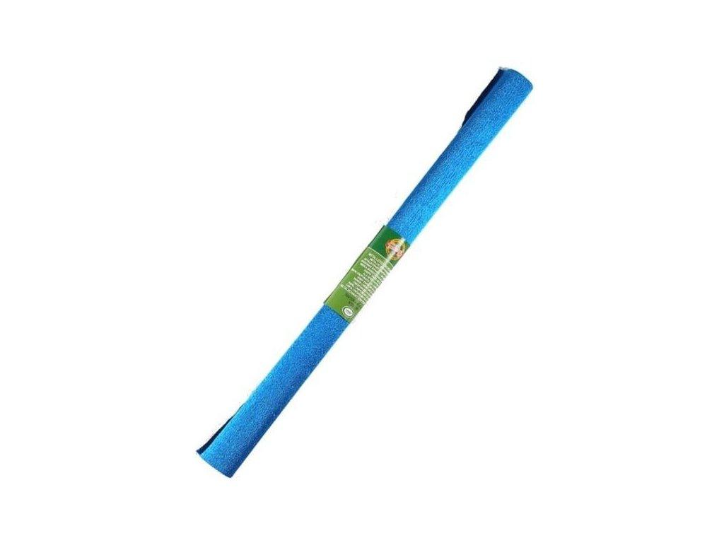 papir krepovy metalicky modry