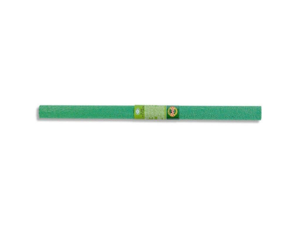 papir krepovy metalicky zeleny