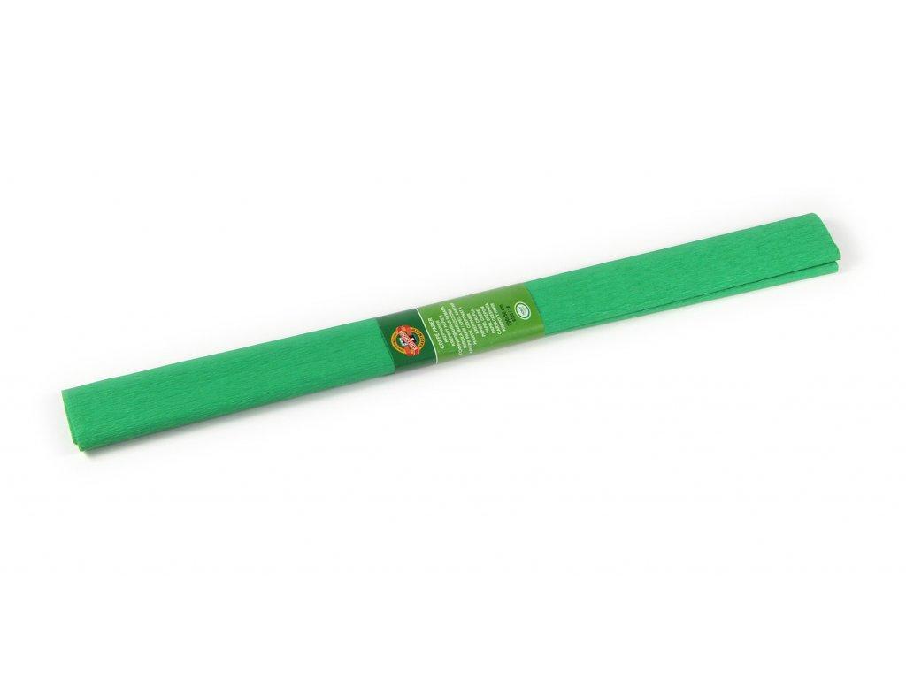 papir krepovy zeleny stredni