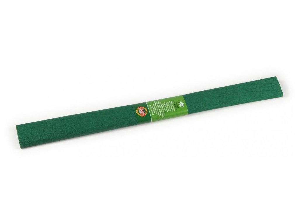 papir krepovy 9755 19 tmave zeleny max