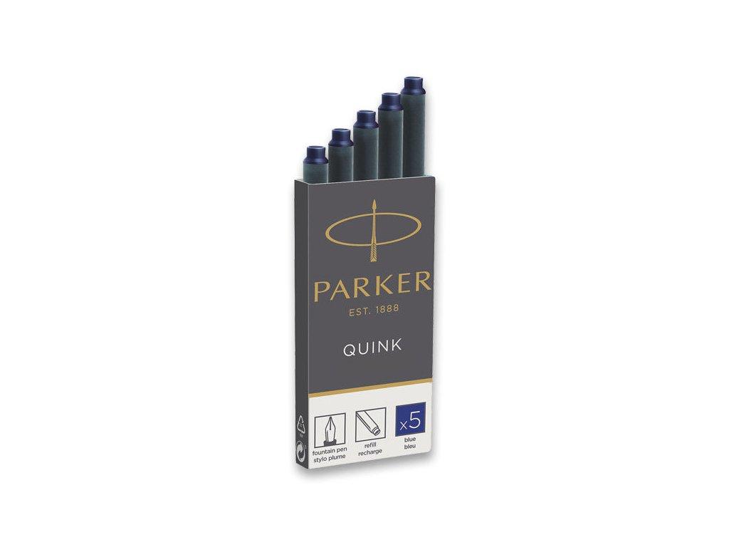 Parker Inkoustové bombičky do plnicích per Parker - permanentní, modré