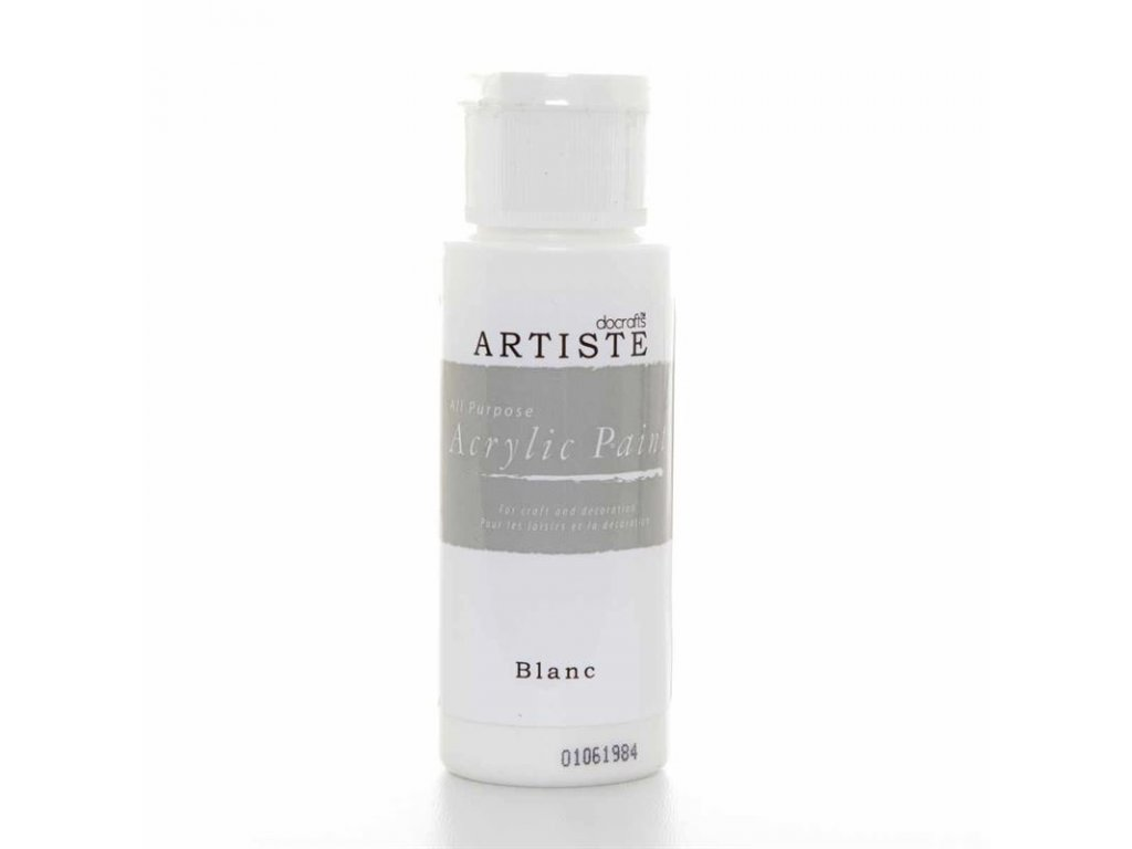 Akrylová barva ARTISTE docrafts Blanc bílá DOA 763260 xlarge