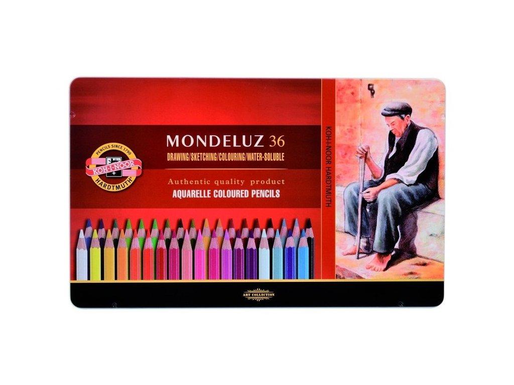 Pastelky Mondeluz 36 ks