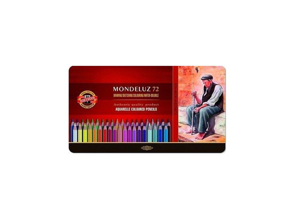 Pastelky Mondeluz 72 ks