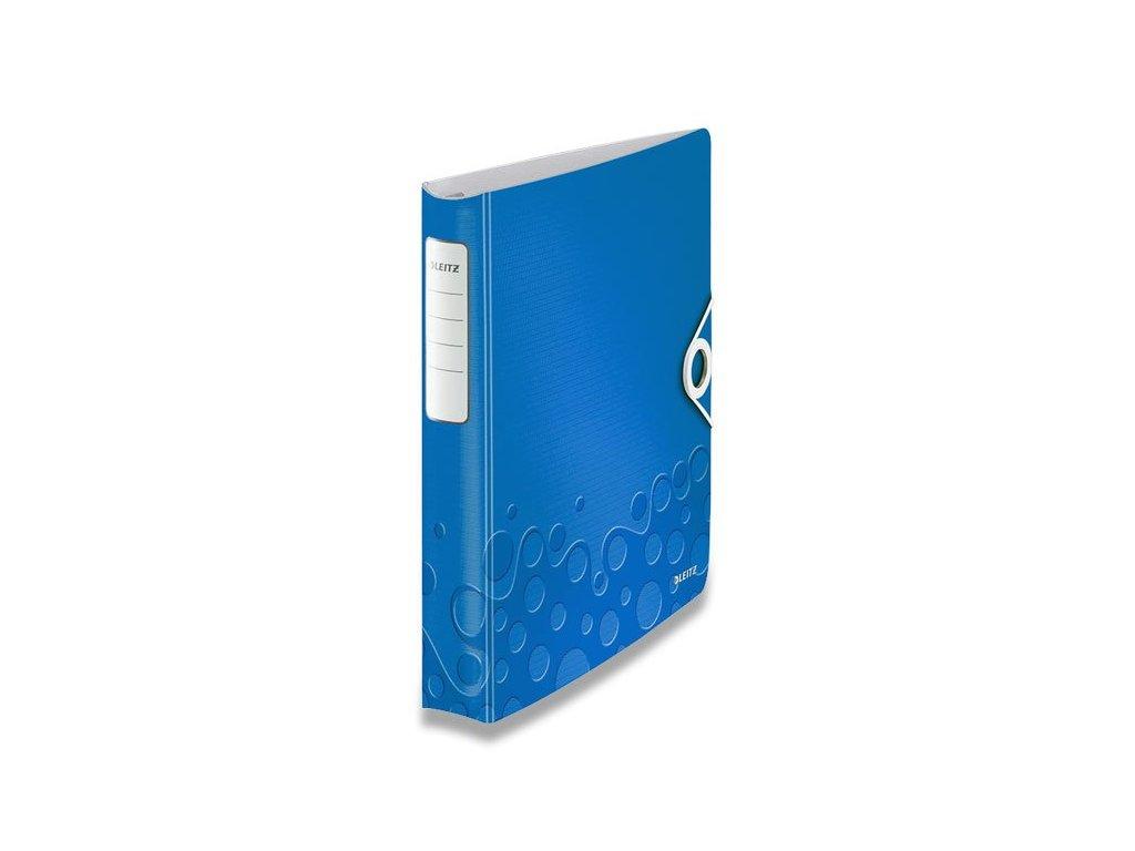pořadač modrý