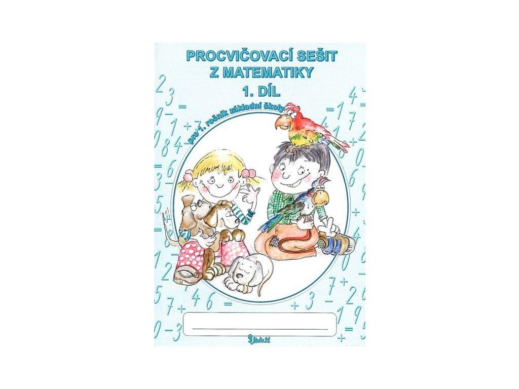 Písanka A5 1. třída - 1. díl matematika