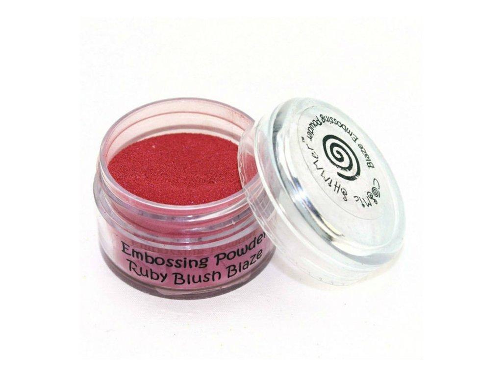 900749 prasek na embosing ruby blush
